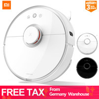 Germany Stock Xiaomi Vacuum Cleaner 2 Roborock S50 S55 Robot APP Control Dust Sterilize Smart Planned Sweeping Wet Mop