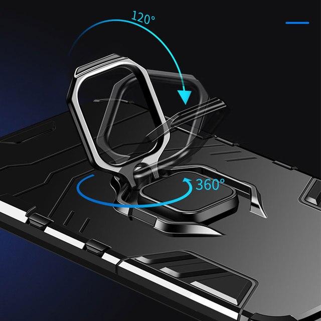 KEYSION Antiurto Armatura di Caso Per Huawei Mate 30 20 Pro P30 P20 lite P Smart Y5 Y6 Y7 Y9 2019 copertura del telefono per Honor 20 Pro 10i 10 lite 8a 8X 9X 6