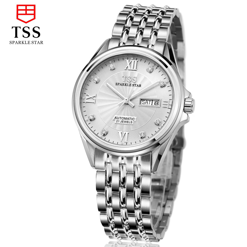 TSS japan MIYOTA 8205 Automatic movement stainless steel male watch fashion trend men watch casual simple thin ultra thin watch male student korean version of the simple fashion trend fashion watch waterproof leather watch men s watch quar