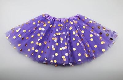 Г. Новая летняя и Осенняя детская юбка детская одежда юбки-пачки для девочек модная повседневная юбка-пачка для принцесс - Цвет: purple