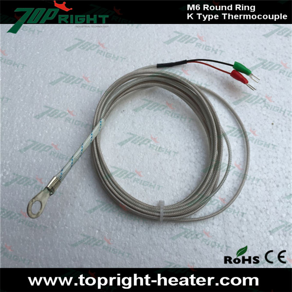 K type M6 round ring thermocouple-in Electricity Generation from ...