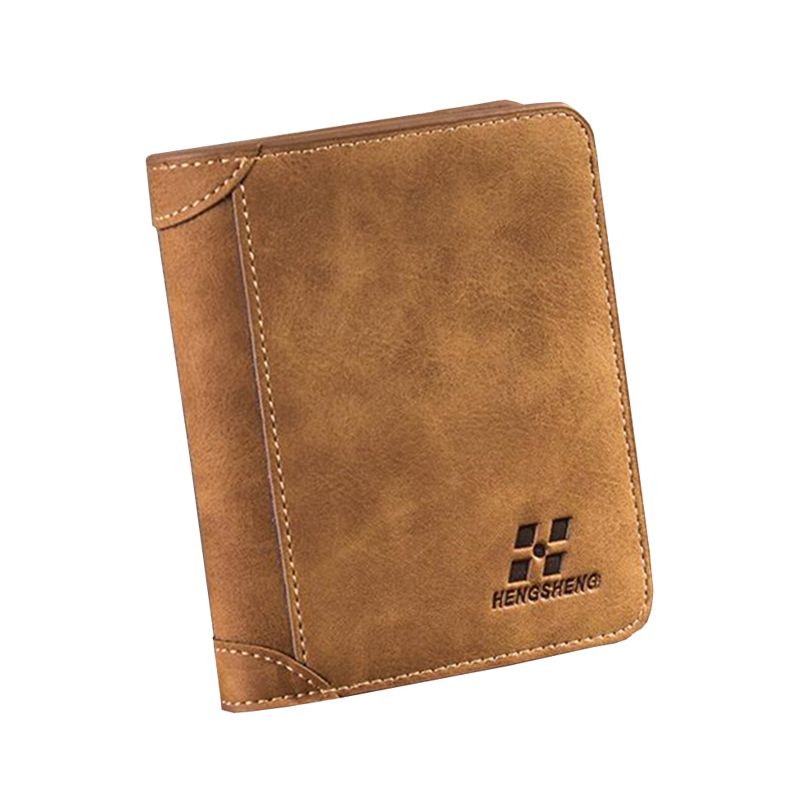 Ultra Thin Small Men Wallet Vintage Nubuck Leather Wallets Mens Bifold ID Card Holder Purse Bag Famous Brand Short Wallet - 1166 bogesi men s wallets famous brand pu leather wallets with wallet card holder thin slim pocket coin purse price in us dollars