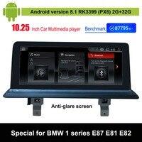 Android 8.1 Car Audio Vdieo Player for BMW 1 series E87 E88 E81 E82 Car original Screen to upgrade