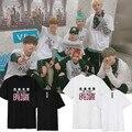 Bangtan Мальчики Бтс Kpop Корея Сеул Концерт T пластины вместе с k-pop Молодежи Настроение На Лето 2016 Мужчин и Женщины