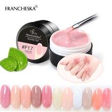 15 мл Камуфляжный гель для дизайна ногтей, строительный гель, быстро впитывающий УФ-гель для наращивания ногтей, 10 цветов, прозрачный розовый белый