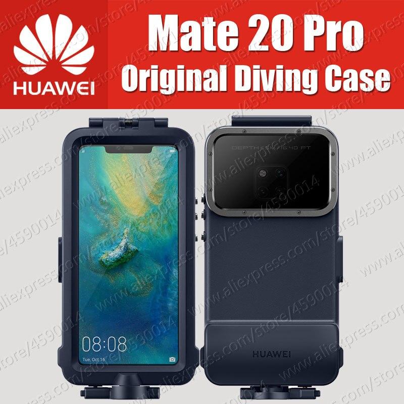 Impermeabile di Caso Per Huawei Mate 20 Pro diving Caso Della Protezione Ufficiale Originale Mate20 Pro Nuoto Lo Snorkeling Copertura