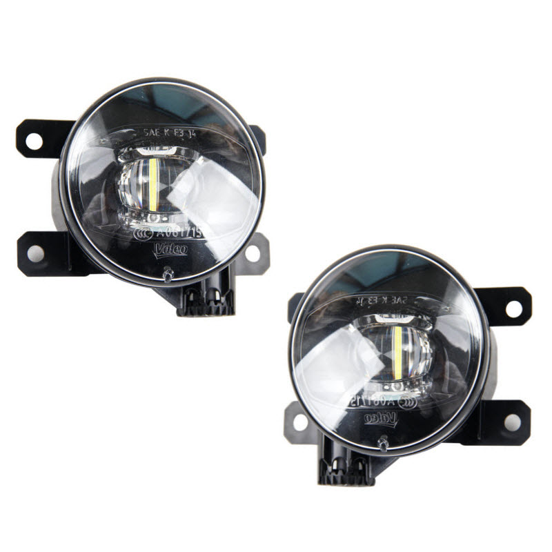Car Styling Projector LED Fog Lights With Cutting Line Lens Xenon White 12V Off Road For Citroen C2 C3-XR C4 DS3 DS4 DS5