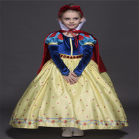 High Quality Kids Princess Sofia Cosplay Dress For Girls Snow White Cosplay Costume Children Christmas