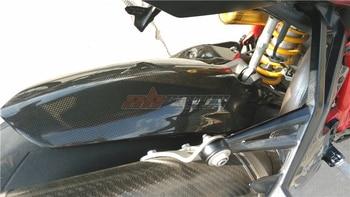 Rear Hugger Fender Mudguard For Ducati Streetfighter  Full Carbon Fiber 100%  Protection