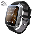 Лучший продавец TTLIFE Бренд Поддержка Sim-карта TF Smartwatch Bluetooth Смарт Часы Носимых Устройств Для Apple, Android телефон pk dz09