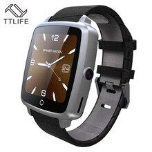 Bestseller TTLIFE Marke Unterstützung SIM TF Karte Smartwatch Bluetooth Smart Uhr Tragbare Geräte Für Apple Android telefon pk dz09