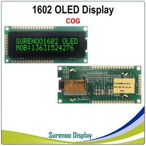 Image 4 - リアル oled ディスプレイ、標準 KS0066 1602 162 16*2 文字の lcd モジュール表示 lcm 画面サポートパラレル spi iic/I2C