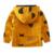 Nueva Moda 2017 niños de la chaqueta ocasional abrigo de otoño cabritos de la chaqueta sudaderas con capucha de algodón niños de la capa niños outwear