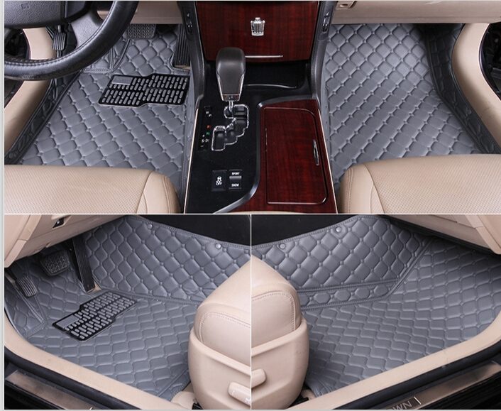 Special Car Floor Mats For Kia Mohave 5seats 2017 2008 Durable Leather Ottomans In From Automobiles Motorcycles On