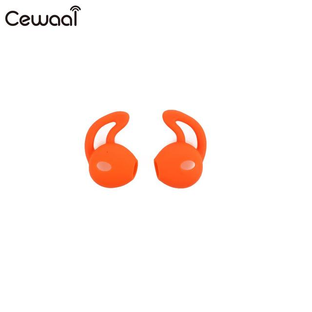 Cewaal for Earpods Accessories Earphone Silicone Case Ears Ear Cover Hook Durable Replacement Earphone Cover