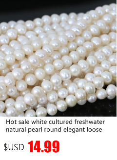 10PCs blanc naturel Bouton aucun trou Cultured Freshwater Pearl Loose Beads 8.5-9mm