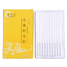 100pcs/box Disposable Sterile Chinese Acupuncture Needles Therapy Face Multi Size Needle
