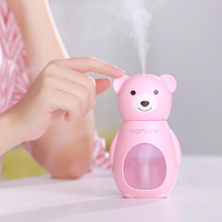 Mini Air Humidifier Cartoon Aroma Diffuser Essential Oil Diffuser Aromatherapy Mist Maker Fogger Air Humidifier For