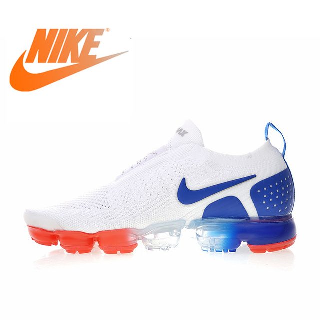 4895ea38dd17 Original Authentic Nike Air VaporMax Moc 2 Men s Running Shoes Outdoor  Sports Sneakers Designer 2018 New Arrival AH7006-400