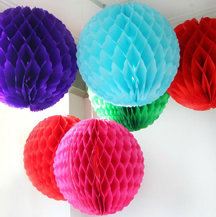 Paper Decoration Balls: Aliexpress.com : Buy W 25cm=10 Inch Tissue Paper Flowers