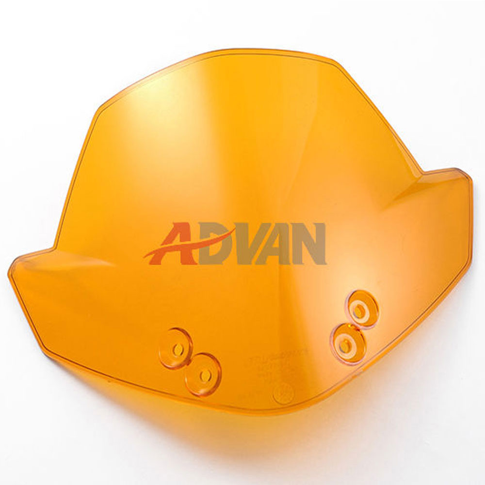 ФОТО Orange Windscreen Windshields Headlight Cover For KTM 125 200 390 Duke