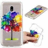 100PCS Phone Case FOR Samsung J5 2017 J530 TPU Cover Silicone Soft Fundas FOR Samsung Galaxy J 5 2017 J530 Back Case Protector