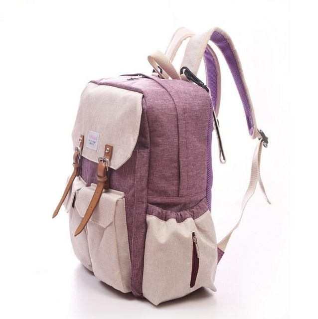 New diapering bags Backpack mummy portable multifunctional baby diaper bag baby large storage lady mummy maternity bag Backpacks