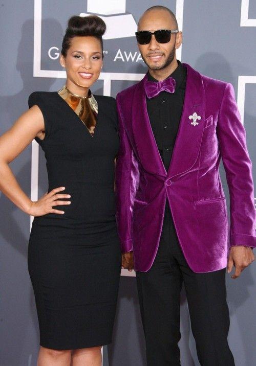 2017 Latest Coat Pant Designs Purple Velvet Men Suit Shawl Lapel ...