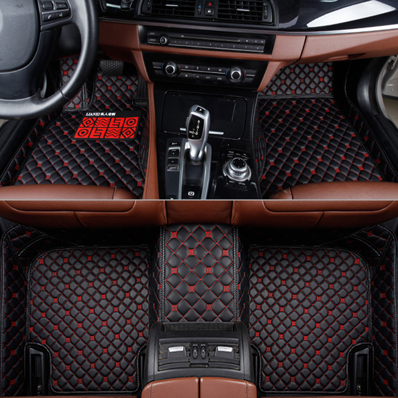 Automobiles & Motorcycles Floor Mats Automovil Mouldings Modified Protector Styling Accessory Modification Decorative Interior Carpet Car Floor Mats For Honda Xr-v