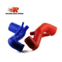 Air intake turbo braided silicone vacuum hose BLUE