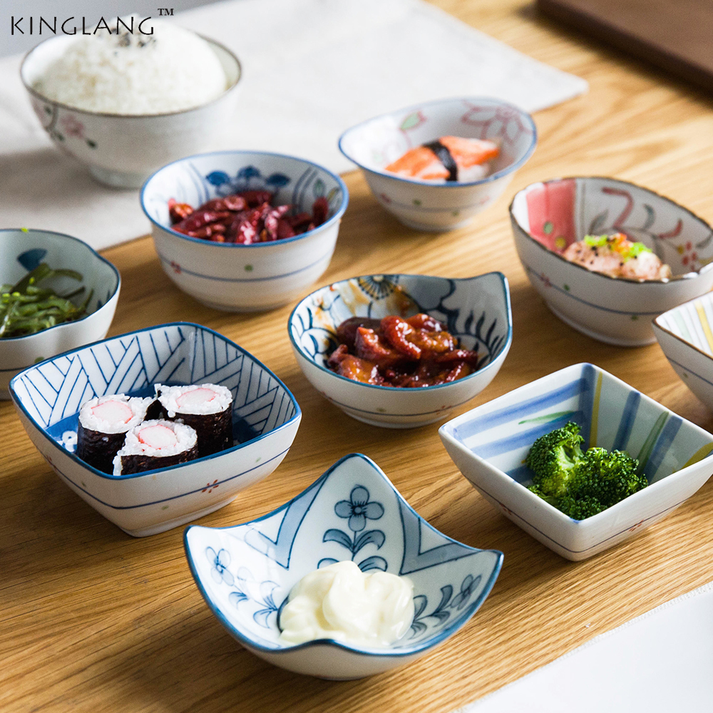Japanese special-shaped sauces,  dipping bowls, ingredients sauce dish  for restaurant  condiment sushi bowl