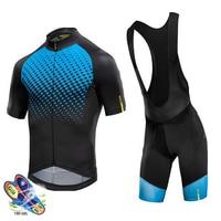 Cycling Jersey 2019 Pro Cycling Team Mavic Summer clothes Man Short Sleeve Cycling Jerseys Bib Shorts Suit Triathlon Clothing