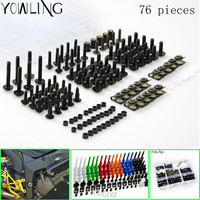 Fairing Bolts Full Screw Kits For HONDA CBR1000RR 04 05 CBR1000 RR CBR 1000RR CBR 1000
