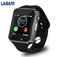 In Stock A1 bluetooth Smart Watch Sync Notifier support Sim Card sport smartwatch Smart Bracelet For apple iphone Android Phone
