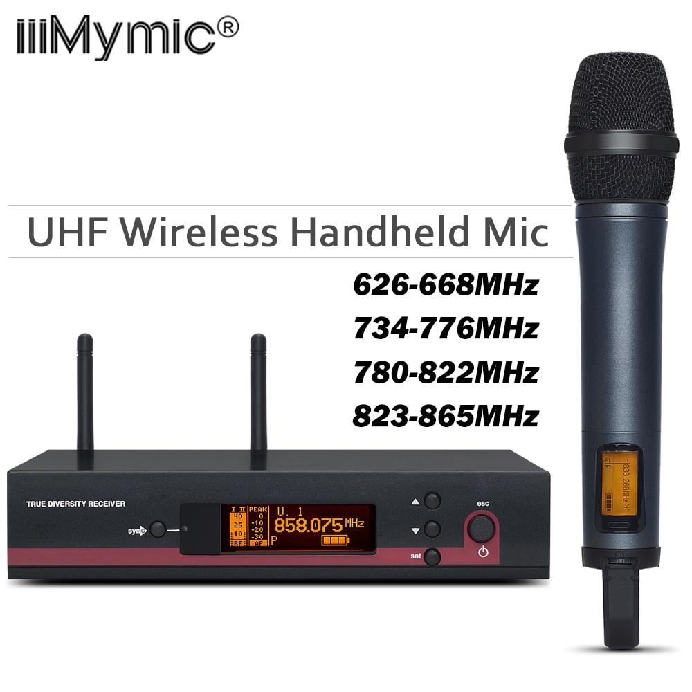 100 Top Quality EW 135G3 Hot Sales Wireless single handheld mic EW 100 G3 UHF PLL