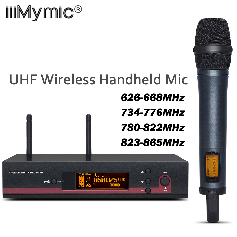 100% Top Quality EW 135G3 Hot Sales Wireless single handheld mic EW 100 G3 UHF/PLL Wireless Microphone system for Stage-in Microphones from Consumer Electronics    1