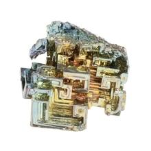 Rainbow Bismuth Crystals 20g/50g Metal Mineral Specimen bismuth ferrite nanoparticles