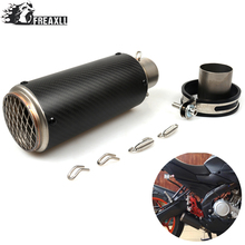 Universal Dirt Bike Exhaust Motorcycle Escape Modified Scooter Muffler large Displacement For Kawasaki Honda