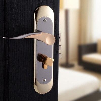 Interior door locks double security entry mortise house - Interior door privacy mortise lock ...
