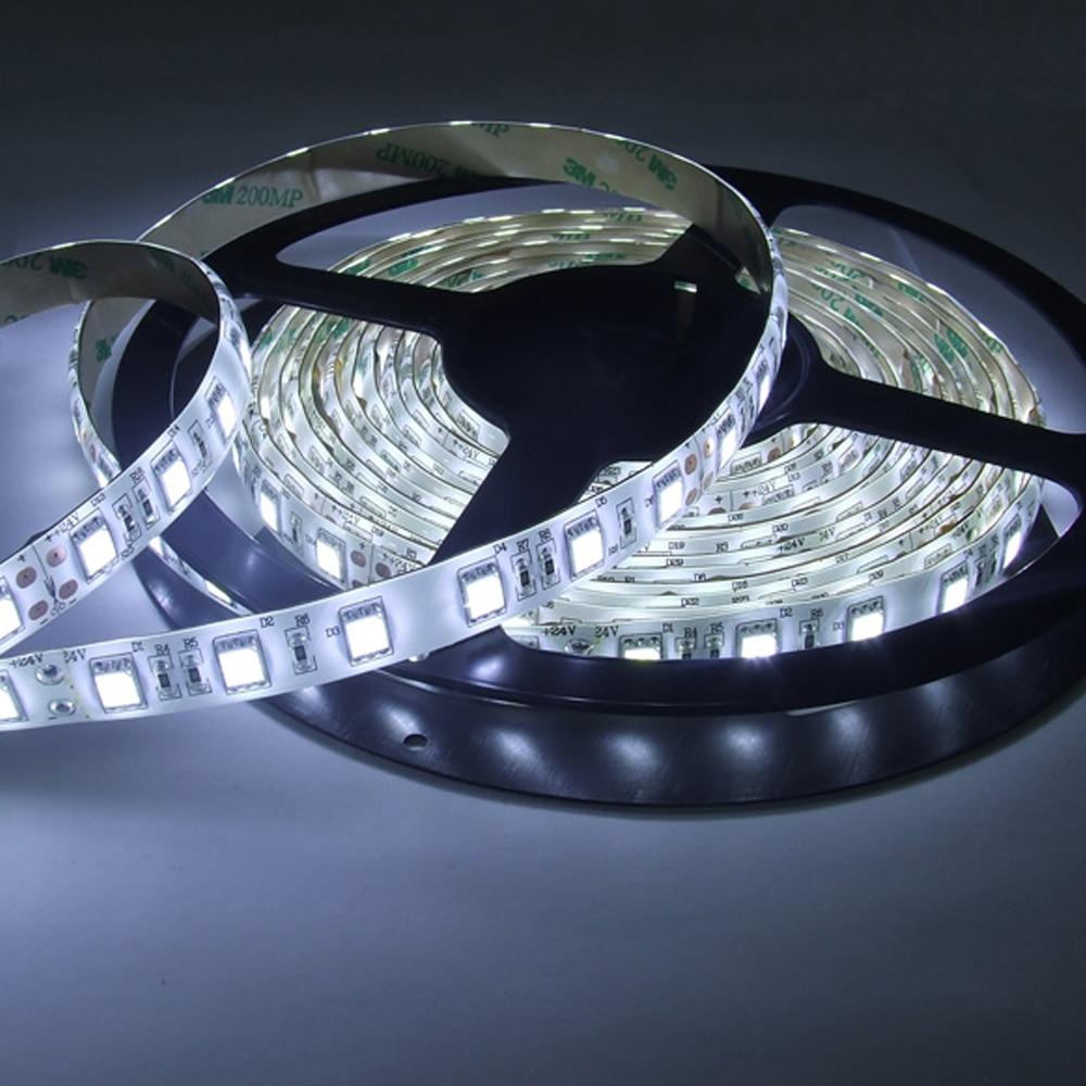 LED Strip 5050 DC12V çevik işıq 60 metr / m suya davamlı zolaq - LED işıqlandırma - Fotoqrafiya 4