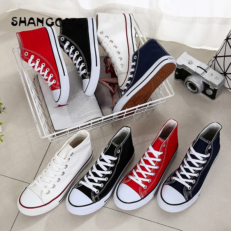 Autumn Fashion Women Lovers Shoes Lace-Up Comfortable Flat Casual Vulcanized Shoes Couple Footwear Leisure Women Canvas Shoes e lov women casual walking shoes graffiti aries horoscope canvas shoe low top flat oxford shoes for couples lovers