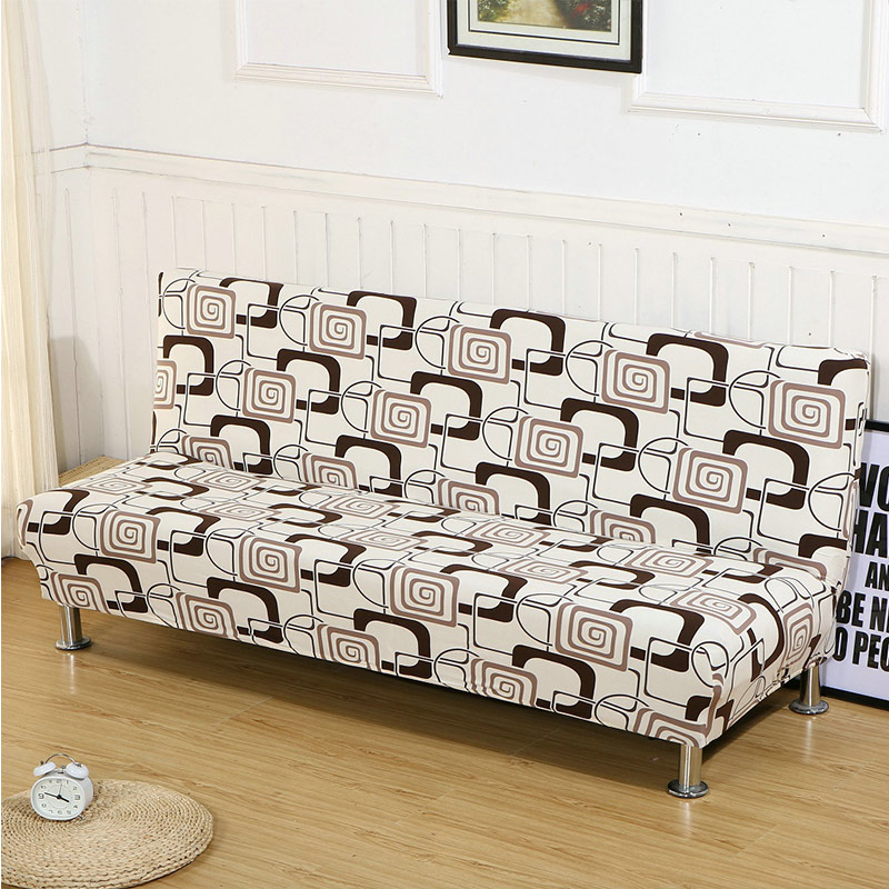 Sofa Cover for Folding Sofa with Tight Wrap to Protect Sofa from Scratch Made with Polyester and Spandex