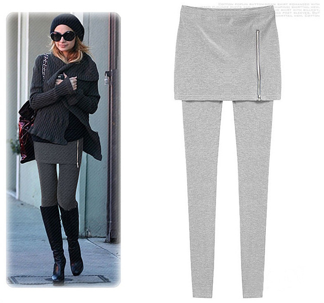 [ANYTIME] 2014 New Spring Women's Basic Warm Fleece Fashion Slim Basic Pencil Pants Trousers Casual Sports Full Length Leggings