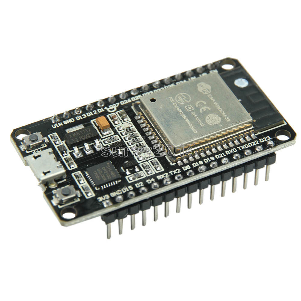 ESP32 ESP-32 ESP32S ESP-32S CP2102 Wireless WiFi Bluetooth Development Board Micro USB Dual Core Power Amplifier Filter Module doit esp 32s esp wroom 32 esp32 esp 32 bluetooth wifi dual core cpu module with low power consumption mcu esp 32
