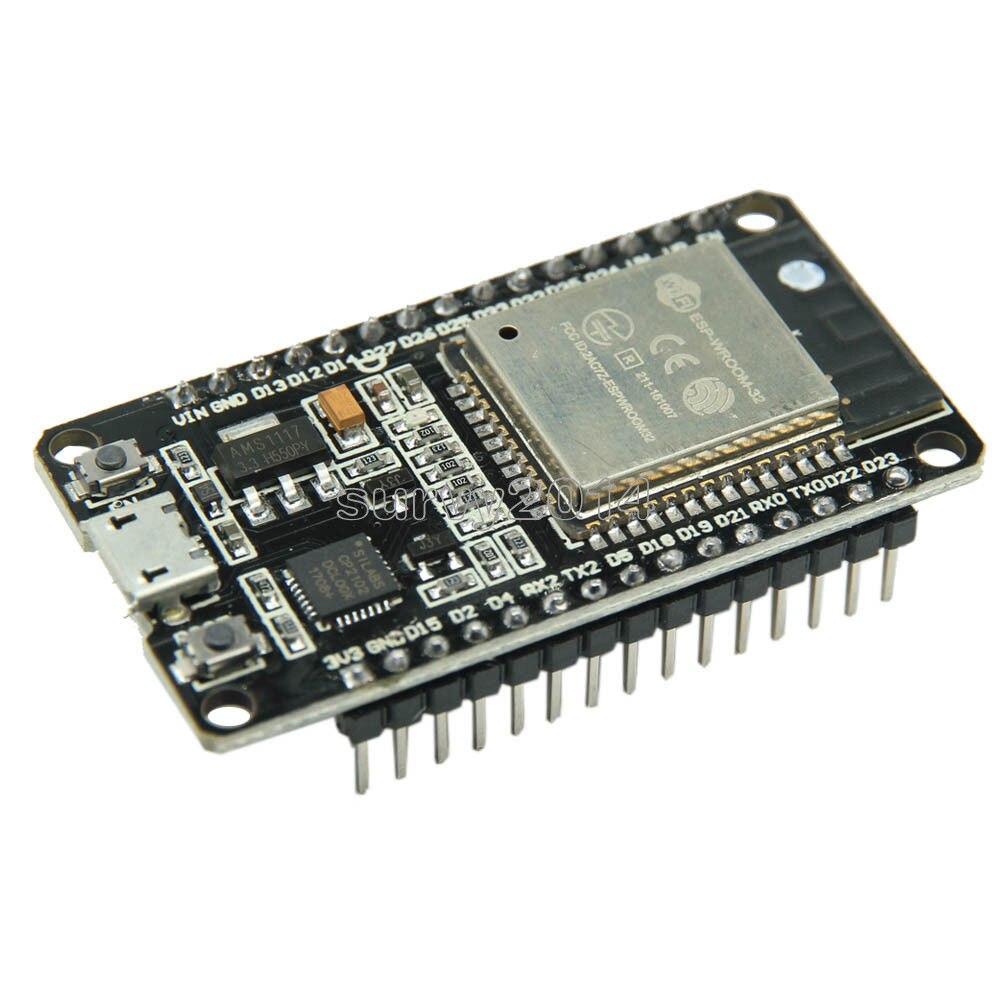 ESP32 ESP-32 ESP32S ESP-32S CP2102 Wireless WiFi Scheda di Sviluppo Bluetooth Micro USB Dual Core Amplificatore di Potenza Modulo Filtro