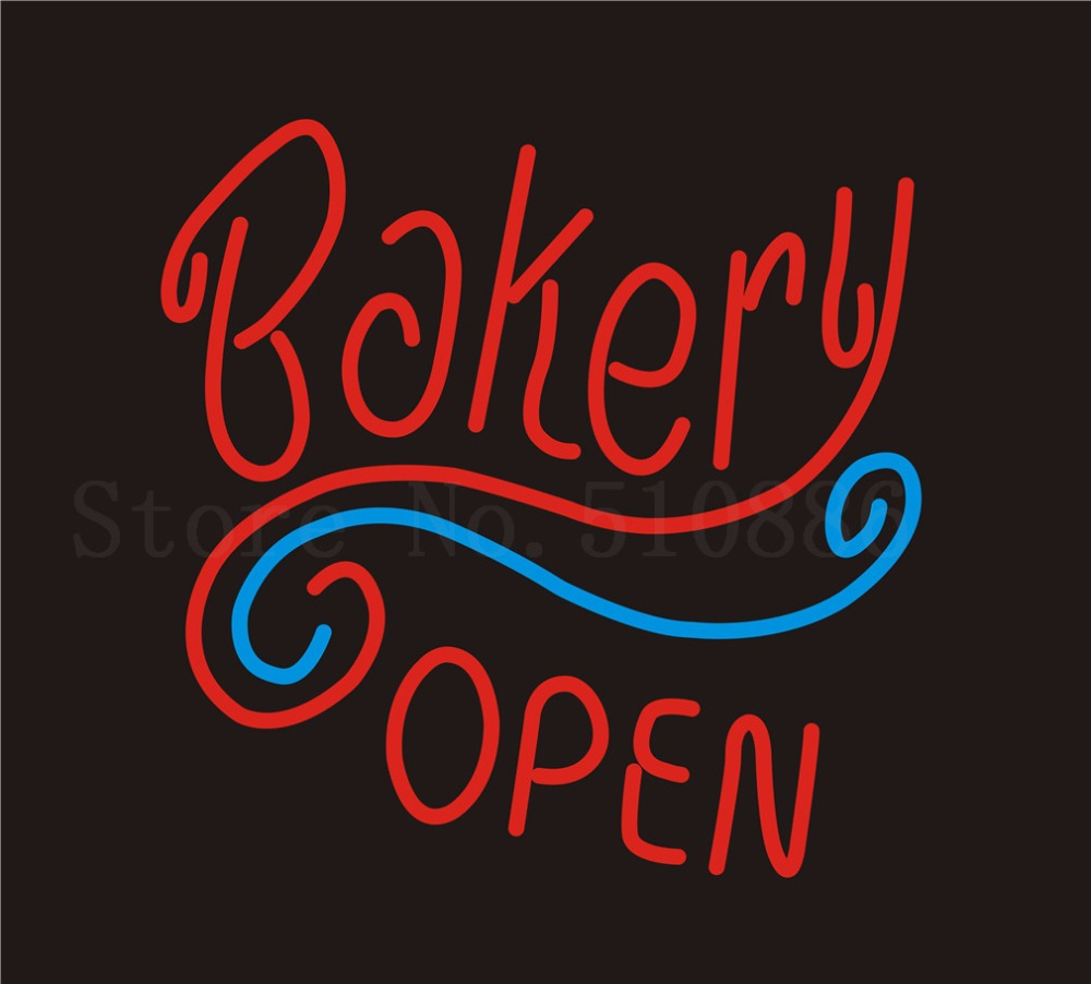 Custom Signage NEON SIGNS For Restaurant Beer Bakery Open Club BAR PUB Signboard Display Decorate Store Shop Light Sign 24*20