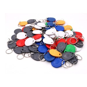 Image 2 - Color EM4100 125Khz Keyfobs  RFID Proximity ID Card Token Tags Key for Access Control Time Attendance
