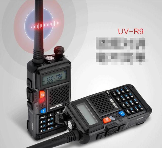 Dual band 1800mah baofeng UVT2 R9 walkie talkie two way radios hot sale FM radio function CB ham radioUVt2 R9 professional radio