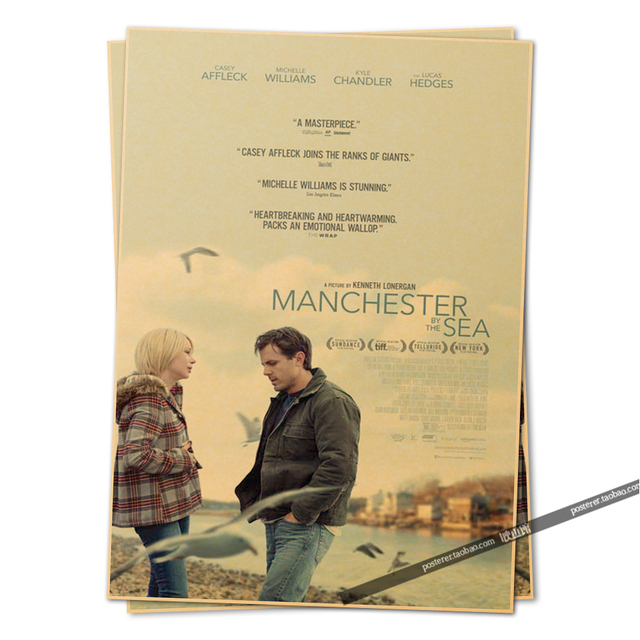 Aliexpress.com : Buy manchester by the sea movie poster 2016 Vintage ...