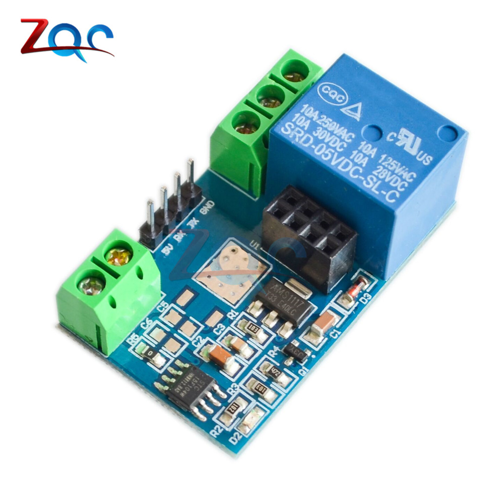 Low Cost Esp8266 Esp 01 Esp01 Dc 5v Wifi Relay Module Remote Control Electric Switch For Arduino Phone